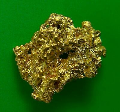 Gold Nugget  0.45 gms. High Purity / Australian / Natural / Gold Nuggets