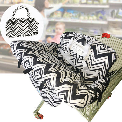 Baby Kid Child Shopping Trolley Cart Seat Pad High Chair Cover Toddler Protector