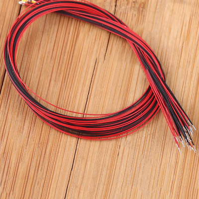 10pc T0603WM T0402 Pre-soldered Micro Litz Wired Leads SMD Led 200mm Mutil-color