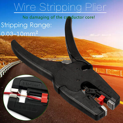 Automatic Electrical Wire Cable Stripper Stripping Plier Terminal Crimper Tool
