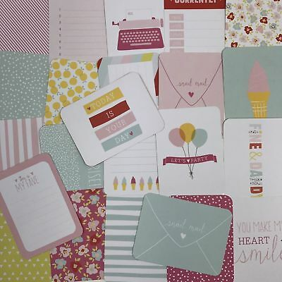 23 Project Life Cards 3x4 Fine & Dandy Ice Cream Mail Quote Journaling Scrapbook
