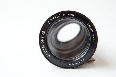 Lens DYALISCOPE 16 SATEC Brevete SGDG Anamorphic Projection Projektor RARE OLD 4