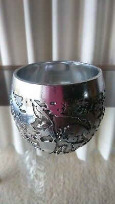 Unique Don Sheil Australia Lunar Nectar Metal Cup-Signed & Dated 1973-Handmade