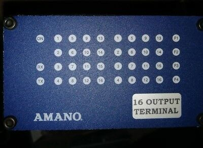 Reduced....Amano XOT900-0-0-AC-00.  16 Channel Output board.