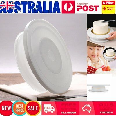 27cm Round Cake Stand Turntable Rotating Cake Decorating Turntab