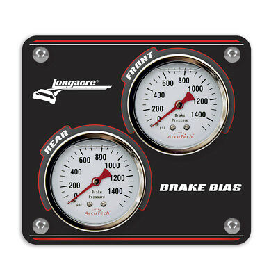 "Longacre Racing Products 44124 Aluminum Mini Brake Balance Panel--4"" x 3 5/8"""