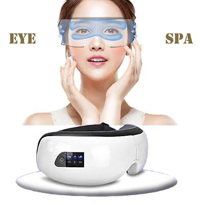 Latest Wireless Bluetooth Music SPA Air Pressure Eye Massager Therapy Vibration