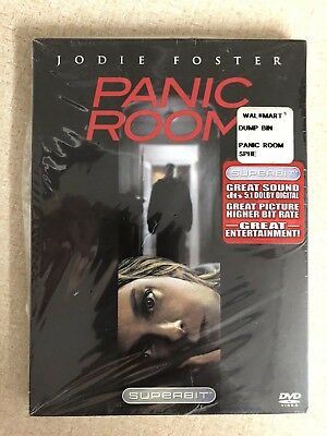 Panic Room - DVD Movie - Jodie Foster - Brand New
