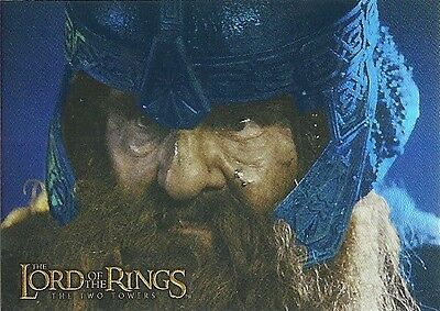 Topps Lord of the Rings Prismatic Foil THE TWO TOWERS Card #8