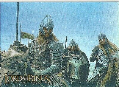 Topps Lord of the Rings Prismatic Foil THE TWO TOWERS Card #9