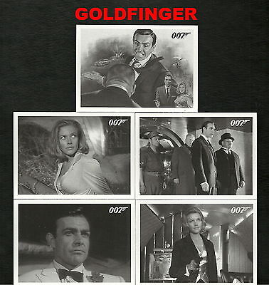2013 James Bond Autographs and Relics GOLDFINGER Throwback set Card #71