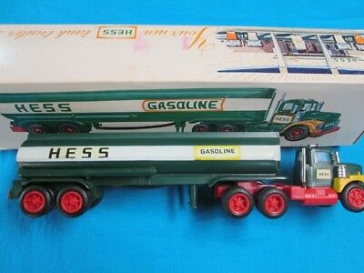1974 Hess Truck with Working Lights and Box Both in Excellent Condition