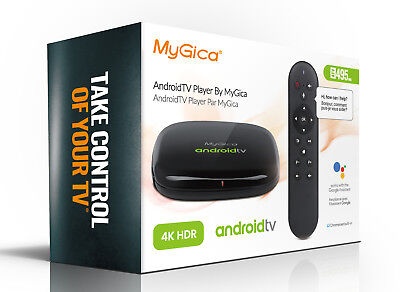 MyGica ATV 495Max Google Certified AndroidTV Quad Core 4K HDR Dolby 495 Max Box
