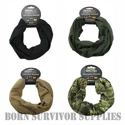 TACTICAL HEADOVER - Head Face Neck Wrap Scarf Snood Bandanna Army Airsoft Kombat