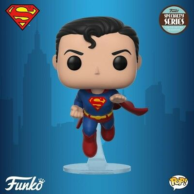 Funko Pop! Specialty Series - 80th Anniversary Flying Superman In Stock