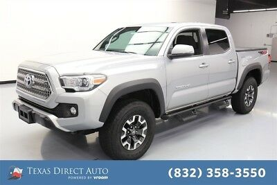 2017 Toyota Tacoma 4x4 TRD Off-Road 4dr Double Cab 5.0 ft SB 6A Texas Direct Auto 2017 4x4 TRD Off-Road 4dr Double Cab 5.0 ft SB 6A Used 4WD