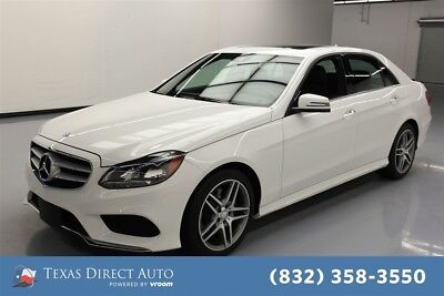 2015 Mercedes-Benz E-Class E 350 Texas Direct Auto 2015 E 350 Used 3.5L V6 24V Automatic RWD Sedan Moonroof