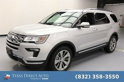 2018 Ford Explorer Limited Texas Direct Auto 2018 Limited Used 3.5L V6 24V Automatic 4WD SUV Premium