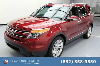 2014 Ford Explorer Limited Texas Direct Auto 2014 Limited Used 3.5L V6 24V Automatic FWD SUV