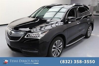 2016 Acura MDX SH-AWD 4dr SUV w/Advance and Entertainment Package Texas Direct Auto 2016 SH-AWD 4dr SUV w/Advance and Entertainment Package Used