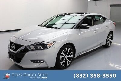 2018 Nissan Maxima SL Texas Direct Auto 2018 SL Used 3.5L V6 24V Automatic FWD Sedan Bose Premium