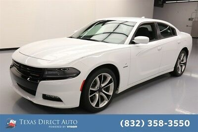 2015 Dodge Charger RT Texas Direct Auto 2015 RT Used 5.7L V8 16V Automatic RWD Sedan Premium