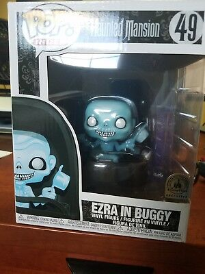 Funko POP! Disney Parks Exclusive Haunted Mansion Ride Ezra In Buggy. SOLD OUT!!