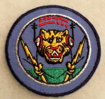Great Design Wwii Patch Has Td Style Tiger Head On Twill Gauze Back No Glow Ce