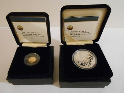 Irland / Ireland  -  20 € Gold + 10 € Silber - 2007 - Celtic Culture - Set