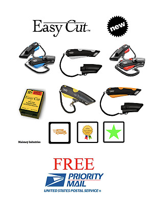 Easycut 1000 Ultimate Package Ebay Deal Easy Cut  5 box cutters & 81 blades DEAL