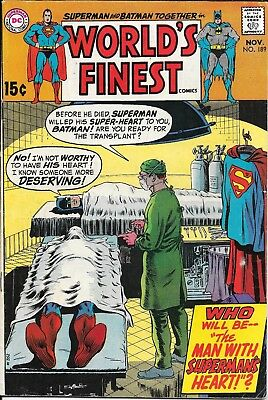 Silver-Bronze, World's Finest Comics 189, 190, 210 (69-72 DC)Superman Batman