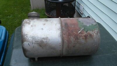 Vintage Round Gas Tank Engine Mini Bike Go Kart Rat Rod