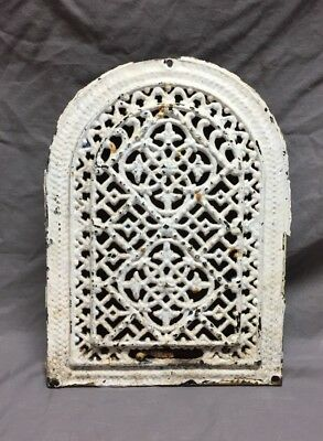 Antique Cast Iron Arch Dome Top Floor Register Heat Grate 8X12 Old Vtg 205-18C