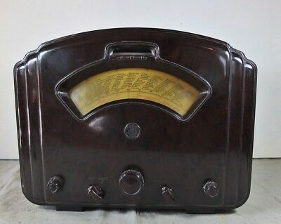 Bakelit Röhren Radio Saba 521 W antique tube radio reciever