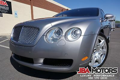 2006 Bentley Continental GT Coupe Mulliner Package ~ 1 OWNER ~ CLEAN CARFAX!! 2006 Silver Coupe Mulliner Package ~ 1 OWNER ~ CLEAN CARFAX!!!