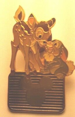 Disney Mickey Mouse Vintage Bambi and Thumper Trading Pin