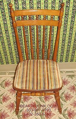 Tell City Hard Rock Andover Maple Slip Seat Dining Room Chair 8038