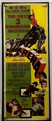ARENA 3D Movie Poster (Fine) Insert 1953 Gig Young Jean Hagen F213
