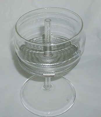 Vintage Pyrex Replacement Parts For 9 Cup Coffee Pot #7759  Stem & Basket Only