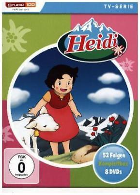 Heidi Komplettbox (TV-Serie, Classic), 8 DVDs
