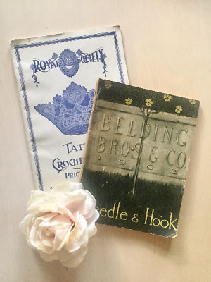 Antique Embroidery and Sewing Booklets