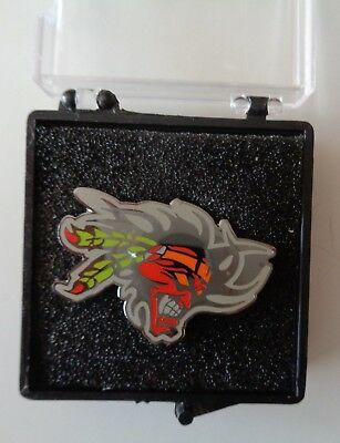 Scott Russell Screaming Chief Metal Hat or Lapel Pin Kawasaki Superbike Troy Lee
