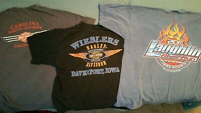 Harley Davidson, X-Large T Shirts, short sleeve  All 3, one price!!