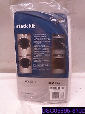Whirlpool Maytag W10869845 Laundry Appliance Long-Vent Dryer Stacking Kit OEM