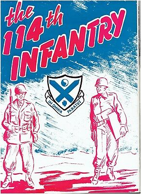 Combat HISTORY of 114th Infantry Reg. / 44th Infantry Division WW2 - 1944-1945