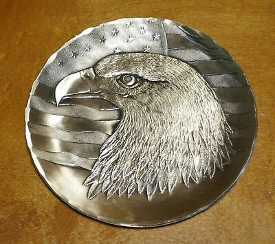 Wendell August Solid Bronze American Eagle Design