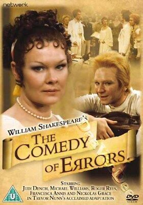 The Comedy of Errors NEW PAL Classic DVD P. Casson Judi Dench Michael Williams
