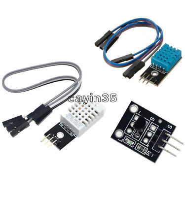 NEW DHT22/AM2302 DHT11 DS18B20 Digital Temperature and Humidity Sensor Module