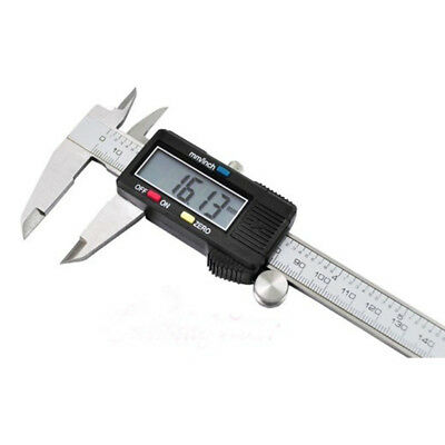 6 inch 0-150mm/0.01mm Digital Caliper Stainless Steel Electronic Vernier Guage