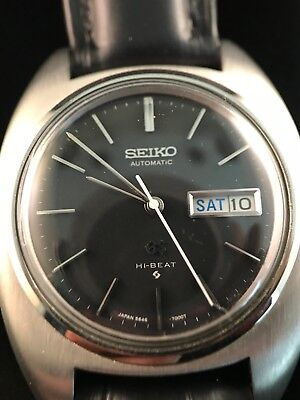 buy online 207b6 14c6a VINTAGE GRAND SEIKO GS Hi Beat 5646-7000 Automatic Watch